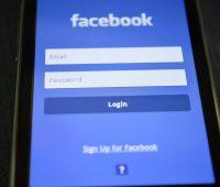 Facebook credentials